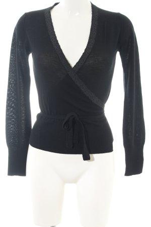 Cinque Wraparound Jacket black casual look