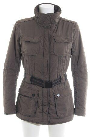 Cinque Kurtka zimowa szaro-brązowy Pikowany wzór W stylu casual
