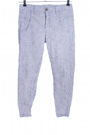 Cinque Jersey Pants blue-white striped pattern casual look