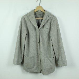 CINQUE Wollmantel Gr. 38 grau Wolle/Kaschmir (20/09/180*)