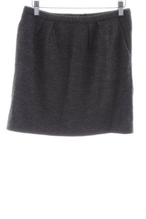 Cinque Wollen rok zwart gestippeld casual uitstraling