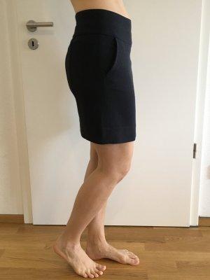 Cinque Wollen rok donkerblauw