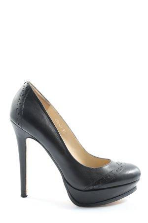 Cinti High Heels schwarz Casual-Look