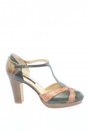 Cinti T-Strap Sandals light grey-nude casual look