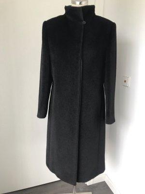 Cinzia Rocca Cappotto in lana nero Lana