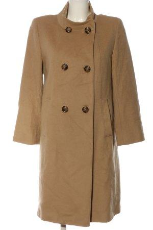 Cinzia Rocca Wełniany płaszcz brązowy W stylu casual