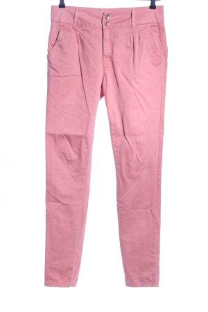 Cipo & Baxx Chinohose pink Casual-Look