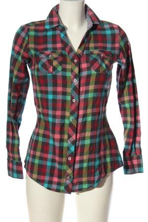 Cipo & Baxx Shirt Blouse allover print business style