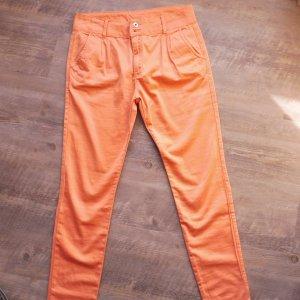 Cipo & Baxx Pantalone a 7/8 arancione scuro Cotone
