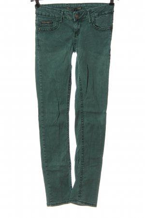 Cipo & Baxx Low Rise Jeans green casual look