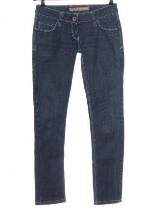 Cipo & Baxx Low Rise Jeans blue casual look
