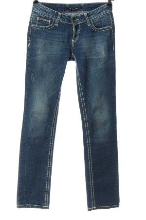 Cipo & Baxx Jeansy biodrówki niebieski W stylu casual