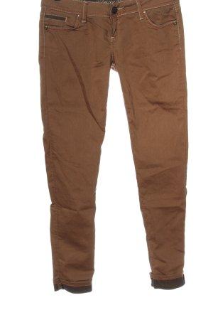 Cipo & Baxx Jeansy biodrówki brązowy W stylu casual