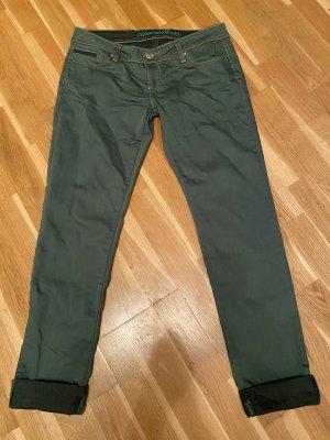 Cipo & Baxx Dopasowane jeansy zielony