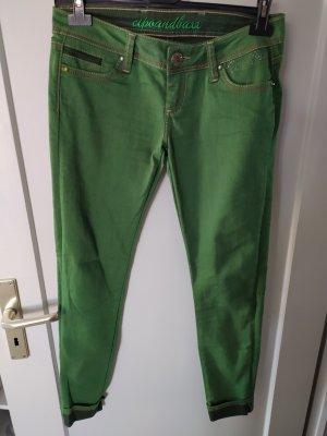Cipo & Baxx Jeanshose grün gr 27, L32