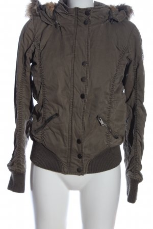 Cipo & Baxx Short Jacket brown casual look