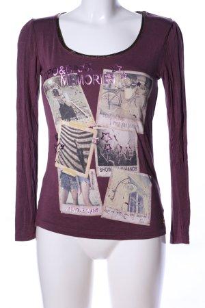 Cipo & Baxx Koszulka z nadrukiem Nadruk z motywem W stylu casual