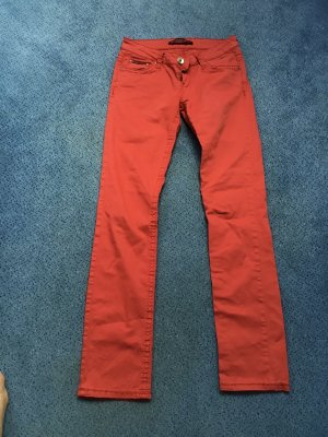 Cipo & Baxx Jeansy ze stretchu czerwony