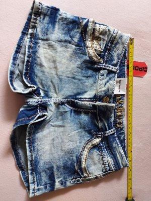 Cipo & Baxx Denim Shorts blue