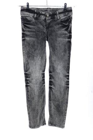 Cipo & Baxx Skinny Jeans hellgrau Casual-Look