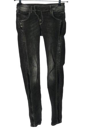 Cipo & Baxx Skinny Jeans black casual look