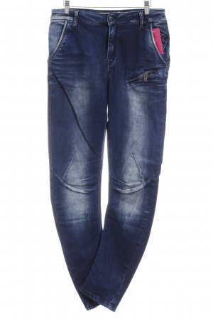 Cipo & Baxx Skinny Jeans blue casual look