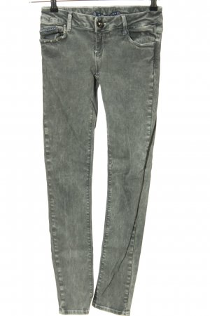 Cipo & Baxx Skinny Jeans light grey casual look