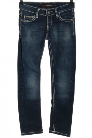 Cipo & Baxx Skinny Jeans blau Casual-Look