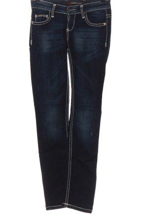 Cipo & Baxx Straight Leg Jeans blue casual look
