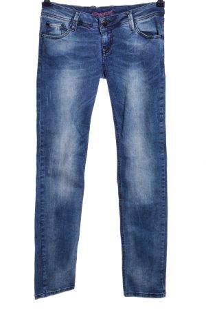 Cipo & Baxx Stretch Jeans blau Casual-Look