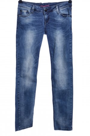 Cipo & Baxx Stretch Jeans blau Casual-Look