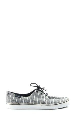Circa Sznurowane trampki jasnoszary-biały Na całej powierzchni W stylu casual