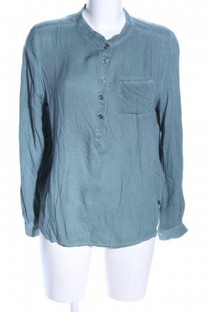 Circle of Trust Long Sleeve Blouse turquoise business style