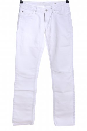 Circle of Trust Jeans a sigaretta bianco stile casual