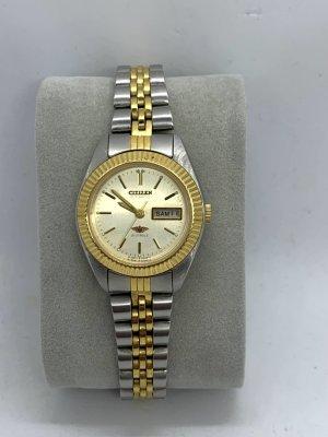 Citizen Reloj automático color plata-color oro