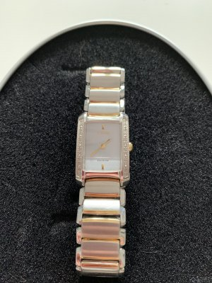 Citizen Watch With Metal Strap silver-colored-gold-colored
