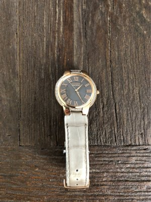 Citizen Watch With Leather Strap multicolored