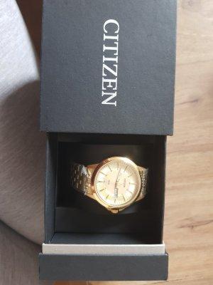 Citizen Reloj analógico color oro