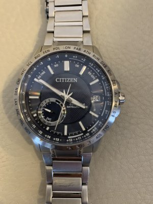 Citizen Self-Winding Watch silver-colored