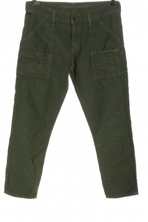 Citizens of Humanity Jeans a 7/8 cachi stampa integrale stile casual