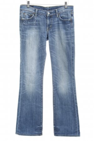 Citizens of Humanity Boot Cut Jeans blau-himmelblau Casual-Look