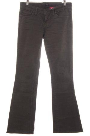 Citizens of Humanity Boot Cut Jeans dunkelgrün schlichter Stil