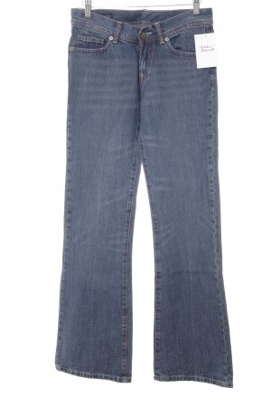 Citizens of Humanity Boot Cut Jeans stahlblau-dunkelrot Casual-Look