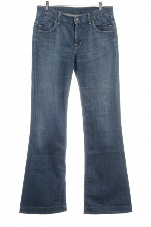 Citizens of Humanity Boot Cut Jeans stahlblau schlichter Stil