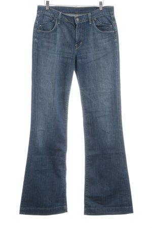 Citizens of Humanity Vaquero de corte bota azul acero estilo sencillo