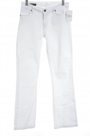 Citizens of Humanity Boot Cut Jeans weiß schlichter Stil