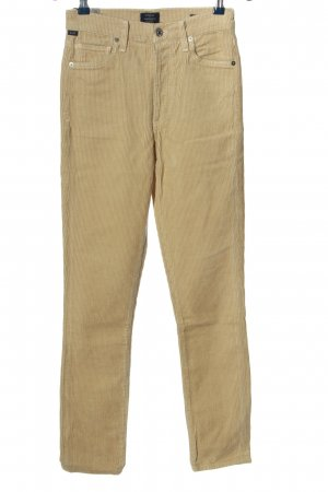 Citizens of Humanity Cordhose wollweiß Casual-Look