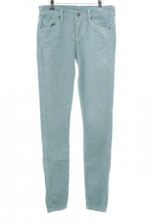 Citizens of Humanity Cordhose türkis Casual-Look