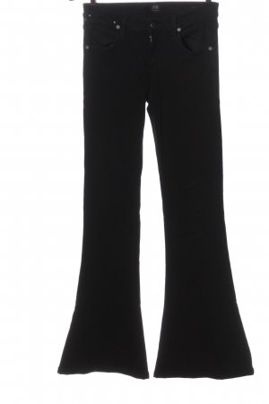 Citizens of Humanity Cordhose schwarz Casual-Look