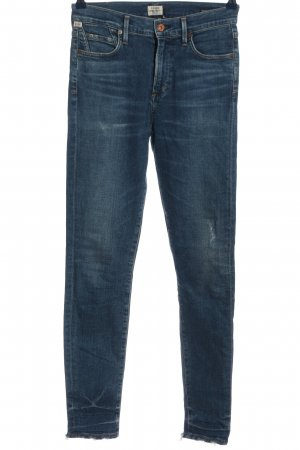 Citizens of Humanity High Waist Jeans blau Casual-Look
